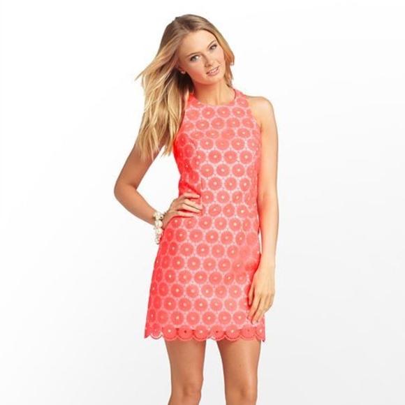 f5521b96b8b3 Lilly Pulitzer Dresses | Pearl Dress Pink Pinwheel Organza | Poshmark